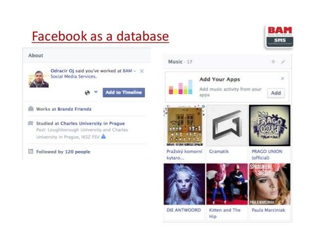 Facebook as a database 6