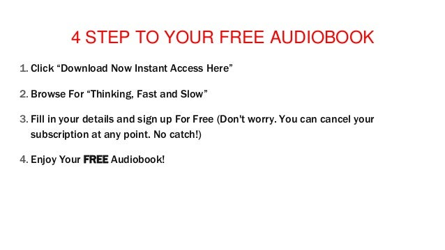 Audiobook Download Mp3 itunes Thinking, Fast and Slow