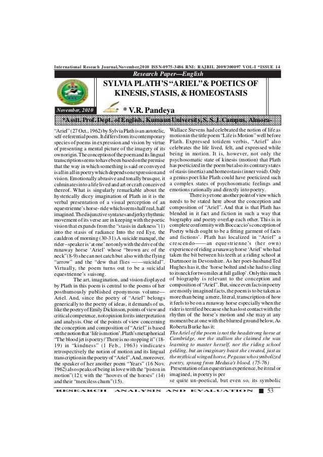 International Reseach Journal,November,2010 ISSN-0975-3486 RNI: RAJBIL 2009/300097 VOL-I *ISSUE 14 53RESEARCH ANALYSIS AND...