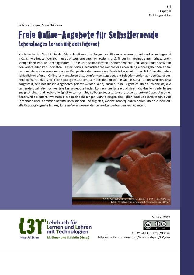 """Bereits Ende der 1990er Jahre wiesen Bildungsexperten auf das immense Potenzial des Internets als Lern- ressource hin: """"Th..."""