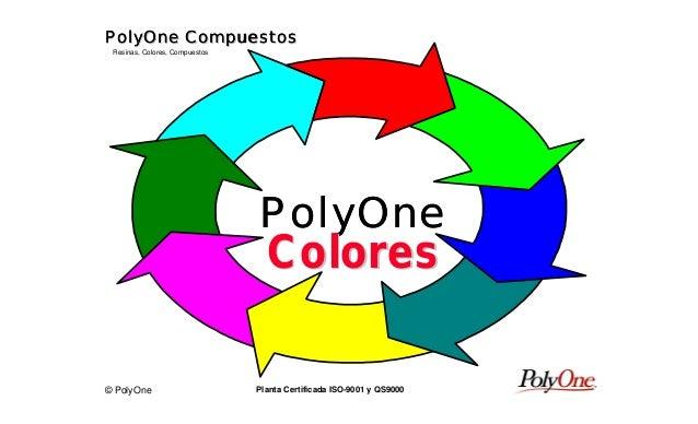 © PolyOne Resinas, Colores, Compuestos PolyOne CompuestosPolyOne CompuestosPolyOne CompuestosPolyOne Compuestos Planta Cer...