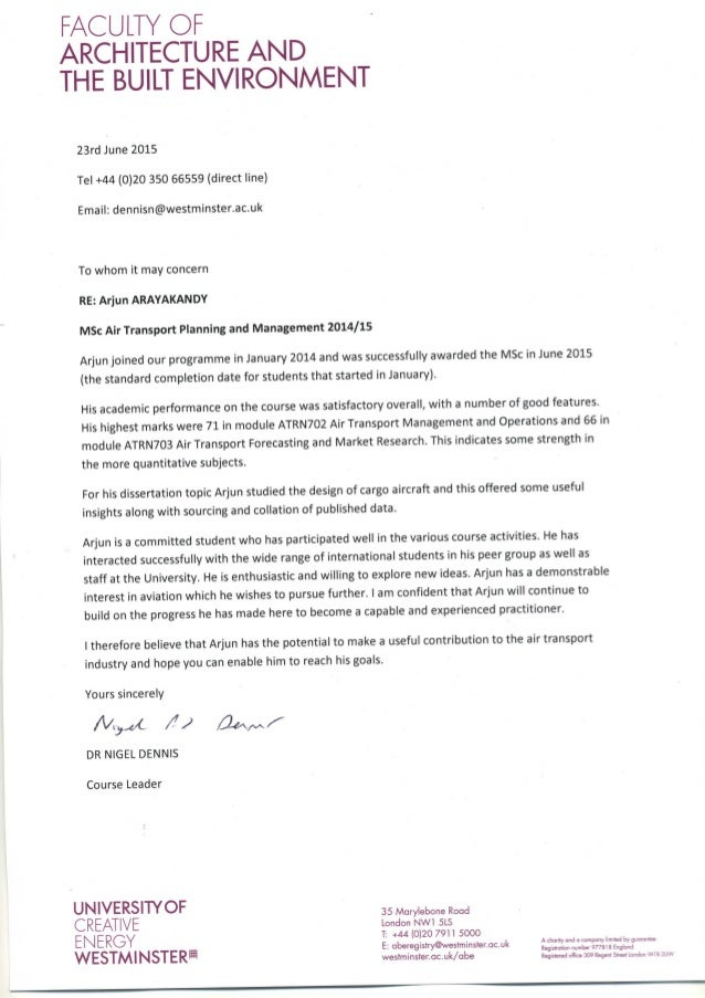 Reference letter given by MSc course leader Dr.Nigel Dennis on template for appeal letter, template for letter format, template for basketball stats, template for thesis statement, template for medical clearance, template for business letter, template for resolution letter, personal reference letter, template for letter of interest, template for statement of purpose, template for welcome letter, template for retirement letter, professional reference letter, template for application, template for promotion letter, template for letter of intent, template for job, template for introduction letter, template for certificate of employment, template for dismissal letter,