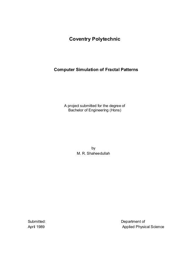 Bsc Dissertation Np