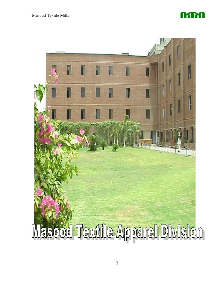 case study masood textile mills Assessment of the workplace conditions and health and safety the effluents and gases emissions in the textile and chemical mills of case study in chemistry.