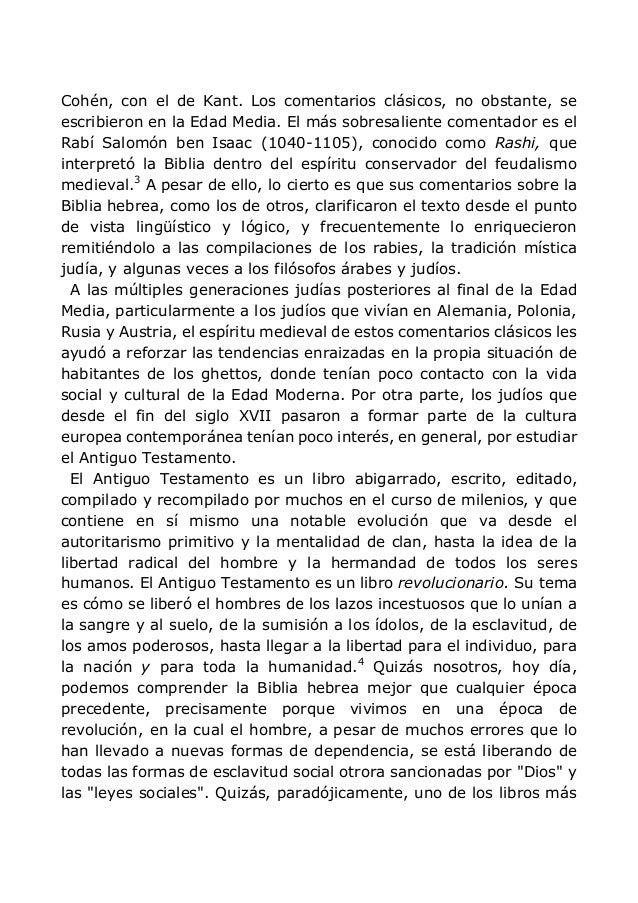 Cohén, con el de Kant. Los comentarios clásicos, no obstante, se escribieron en la Edad Media. El más sobresaliente coment...