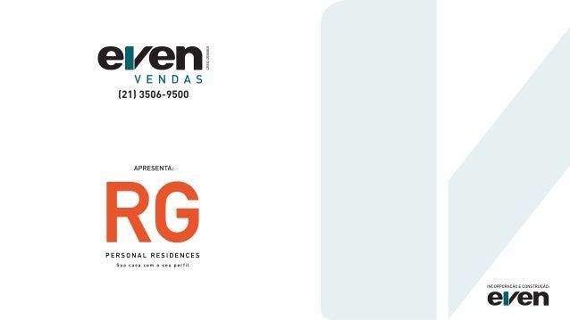 Even Vendas - RG Personal Residences - Oficial