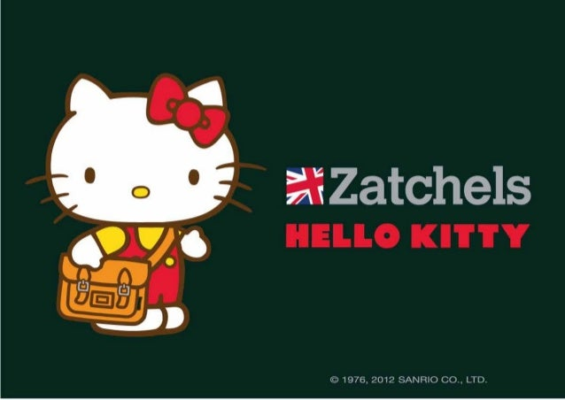 HELLO KITTY X ZATCHELS - PRODUCT