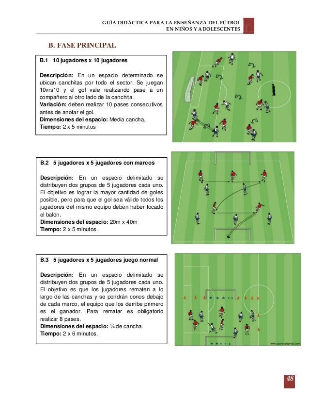 Guia de entrenamiento de futbol 8 a 16 años cf053c23f7184