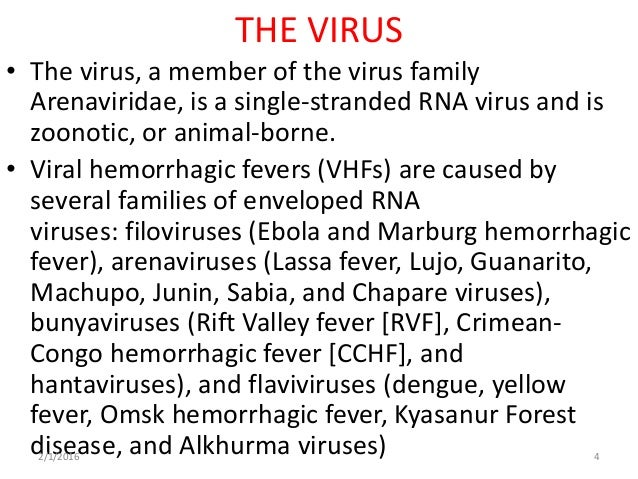 an introduction to the issue of the ebola hemorrhagic fever Ebola hemorrhagic fever (ehf) is an acute viral syndrome that presents with fever and an ensuing bleeding diathesis that is marked by high mortality in human and nonhuman primates fatality.