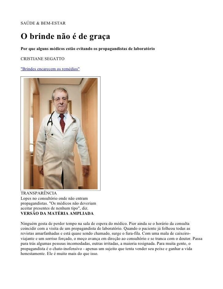 Matéria Revista Época12.11.07