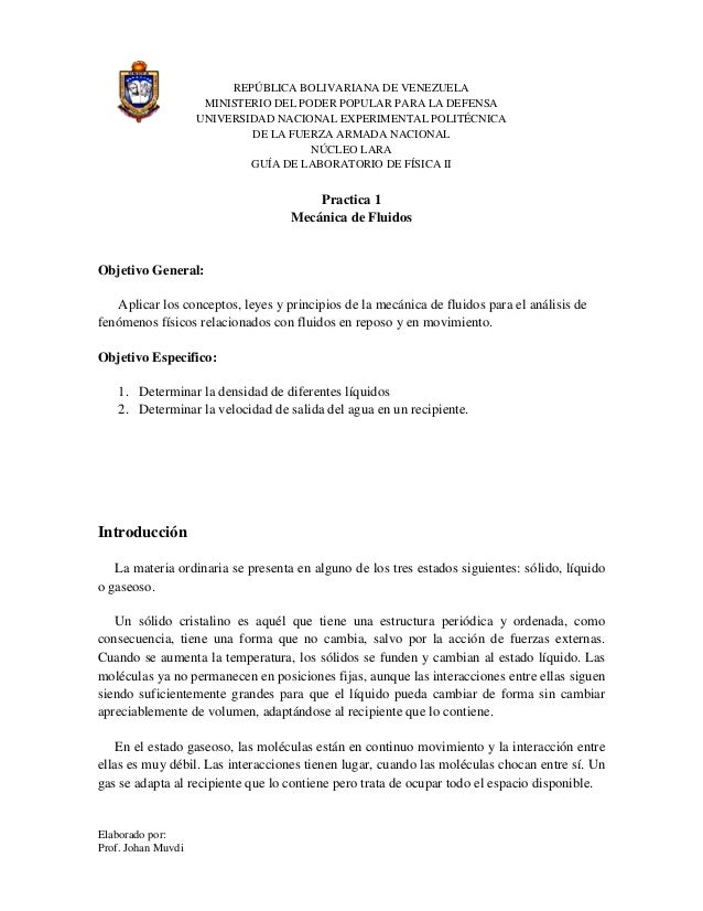 Elaborado por: Prof. Johan Muvdi REPÚBLICA BOLIVARIANA DE VENEZUELA MINISTERIO DEL PODER POPULAR PARA LA DEFENSA UNIVERSID...
