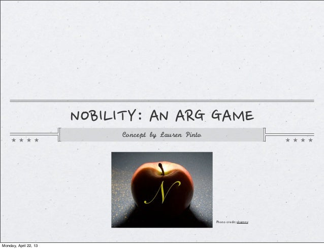 NOBILITY: