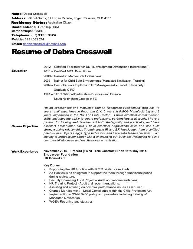 Resume For Residency Demirediffusion