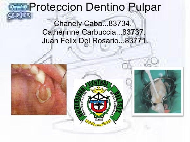 Proteccion Dentino Pulpar Chanely Caba...83734.  Catherinne Carbuccia...83737. Juan Felix Del Rosario...83771.