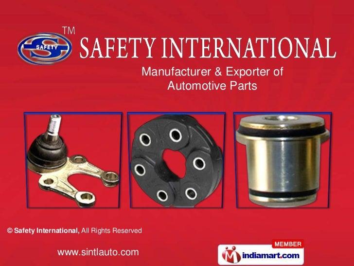 Manufacturer & Exporter of  <br />Automotive Parts<br />
