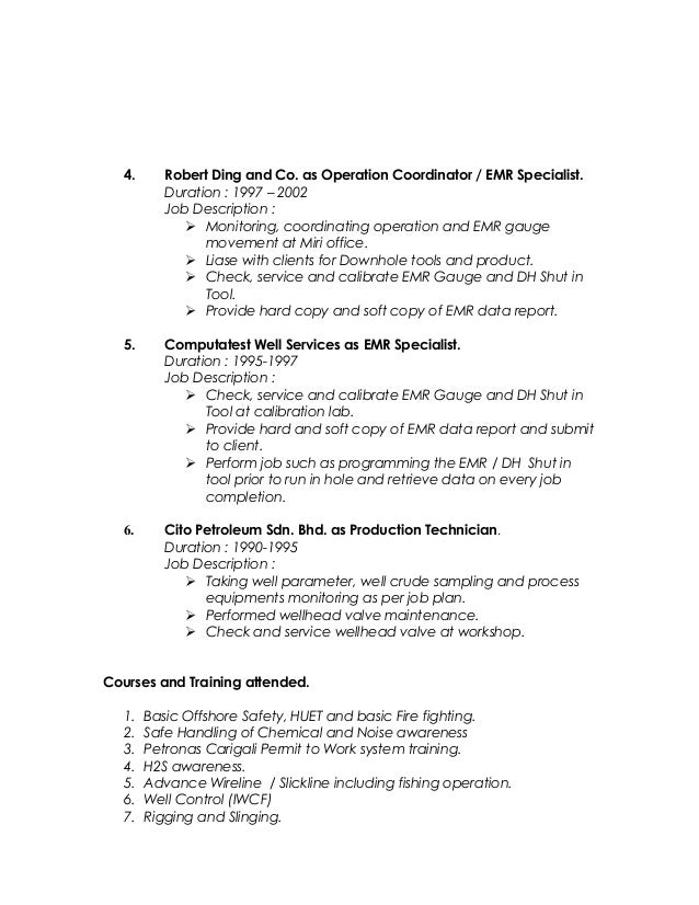 Emr Consultant Sample Resume] Consulting Resume Samples ...