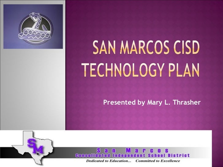 Presented by Mary L. Thrasher