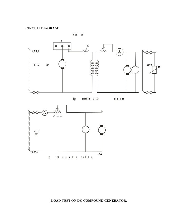 Load Test On Dc Shunt Motor Circuit Diagram