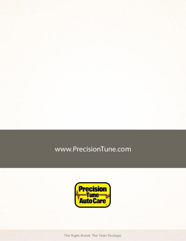 Precision Tune Auto Care Saudi Arabia Master Franchise Brochure 02042