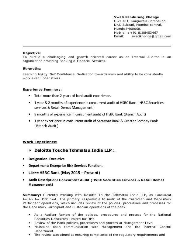 Resume - Swati Khonge