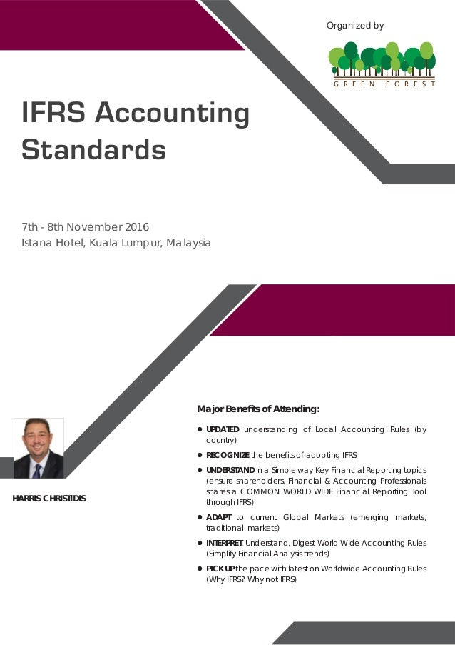 advantages of adopting ifrs