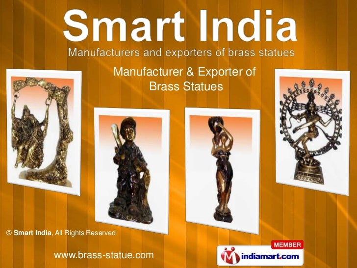 Manufacturer & Exporter of                                      Brass Statues© Smart India, All Rights Reserved           ...