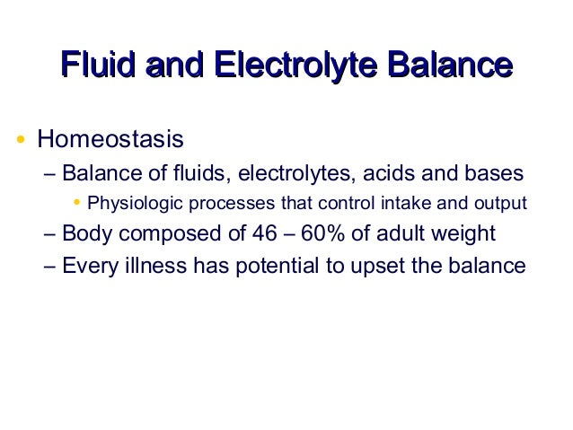 acid base balance and fluids and Ninety percent of the cations in the extracellular fluids consist of: a) hydroxyl ions b) calcium ions c) sodium ions  acid/base balance of the body.