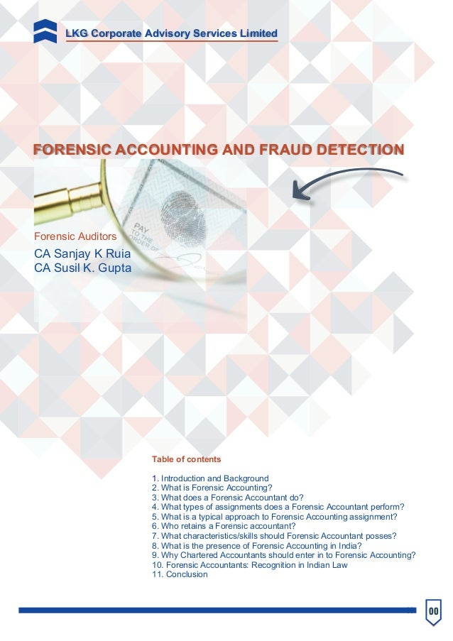 forensic accounting and fraud detection pdf