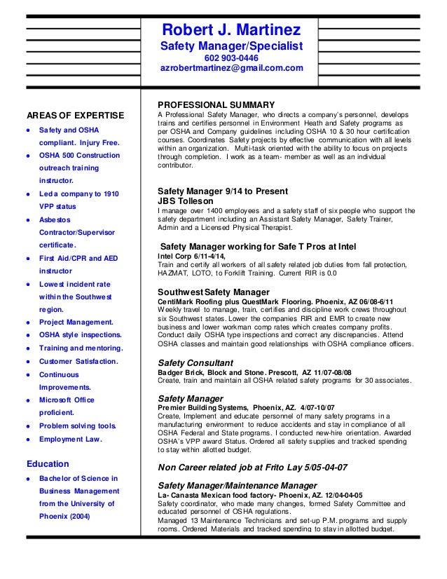Safety Resume 6.24.15
