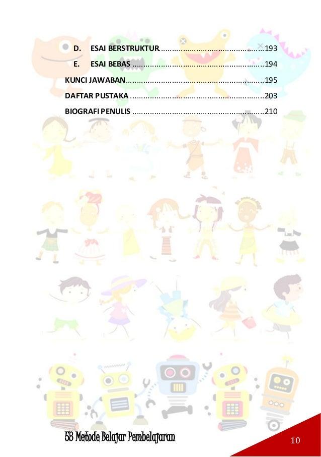 53 Metode Belajar Pembelajaran 11 BAB I PENDAHULUAN