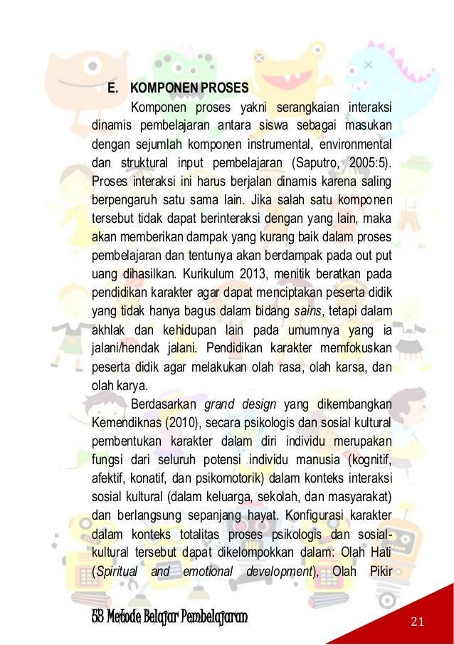 53 Metode Belajar Pembelajaran 22 (intellectual development), Olah Raga dan Kinestetik (Physical and kinestetic developmen...