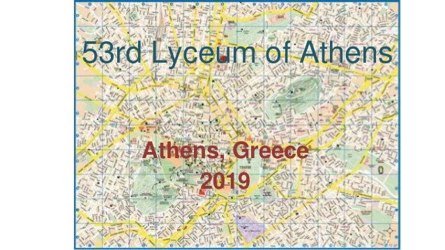 53rd Lyceum of Athens Athens, Greece 2019