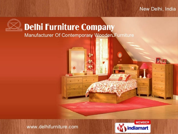 New Delhi, India Manufacturer Of Contemporary Wooden Furniture