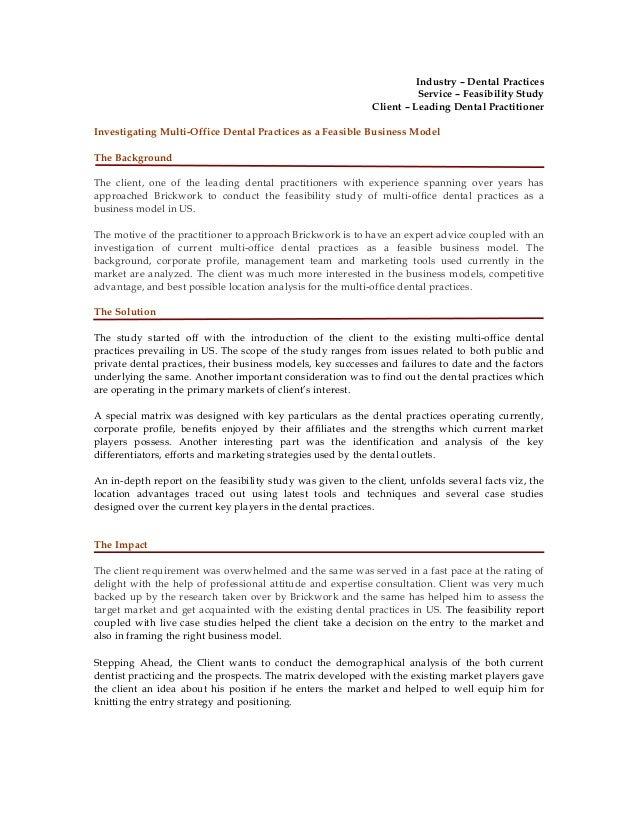 Market Research Portfolio