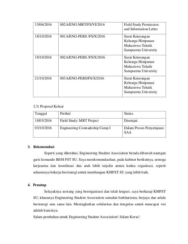 Laporan Pertanggungjawaban Keuangan In English