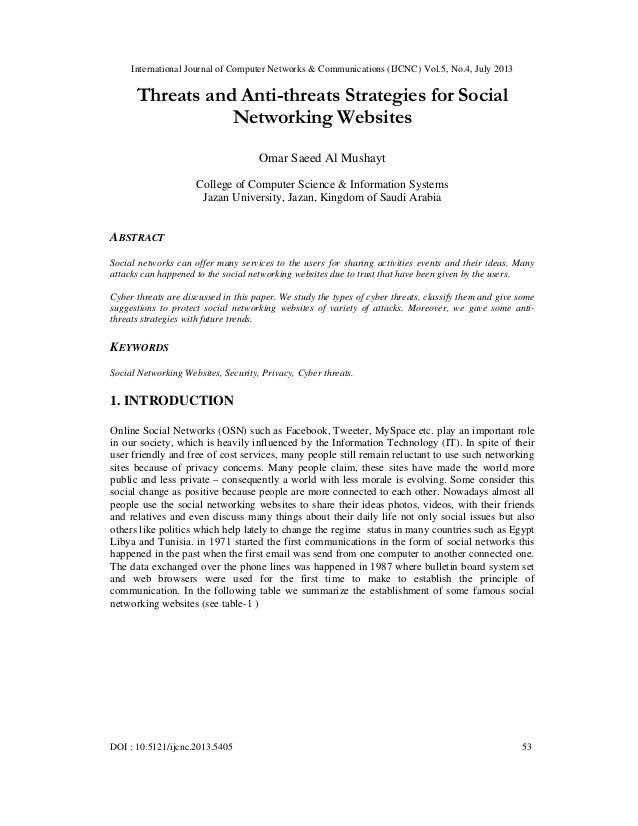 International Journal of Computer Networks & Communications (IJCNC) Vol.5, No.4, July 2013 DOI : 10.5121/ijcnc.2013.5405 5...