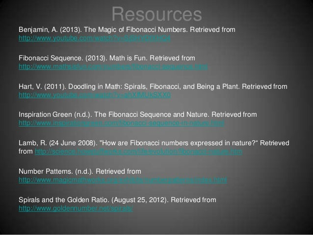 541 Interactive ppt Fibonacci Sequence