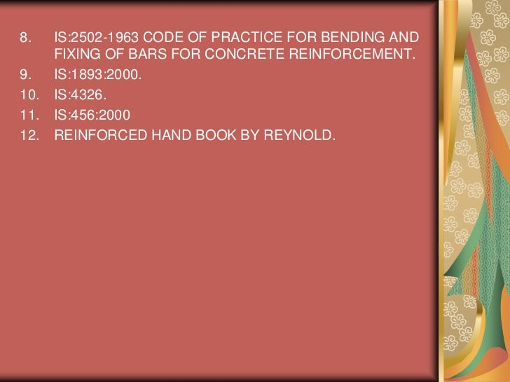 reinforcement detailing handbook concrete institute of australia