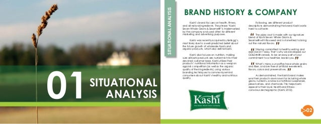swot analysis of kashi Swot analysis marketing objectives brand promotion objectives brand promotion strategies budget  kashi frozen pizza competes in the frozen pizza industry as well as healthy meal options the total us food industry sales exceed $540 billion each year  who are amongst some the kashi's competitors we know that kashi's cereal and.