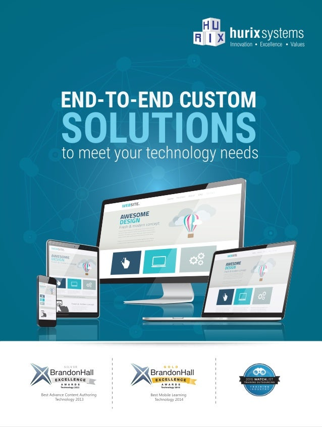 Hurix Technology Services Brochure Web Format