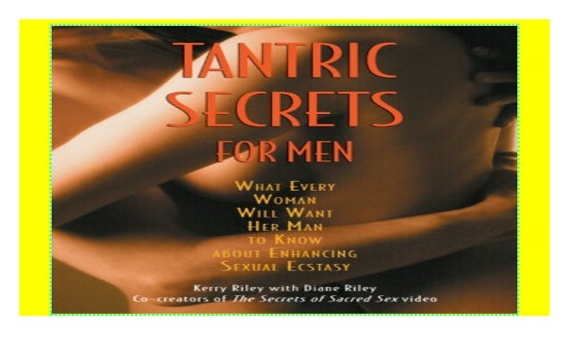 Secrets sacred of tantric sex the The Thermodynamics