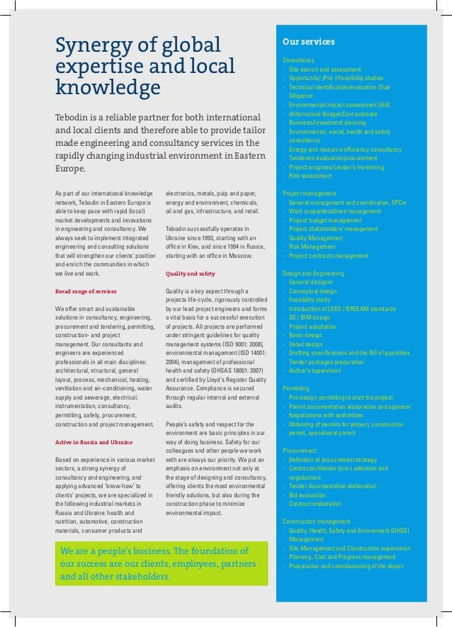HR Tebodin EASTERN EUROPE en PDF