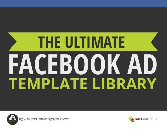 Facebook Ad Template | Fb Ad Template Update