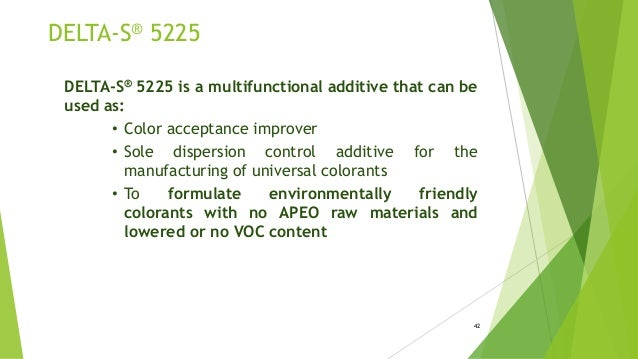Performance Coating Additive by DELTA specialties