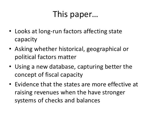 Geographic factors essay