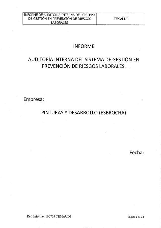 5 ejemplo-de-auditoria-2-Ambiental interna del sistema de getion en prevencion de riesgos II