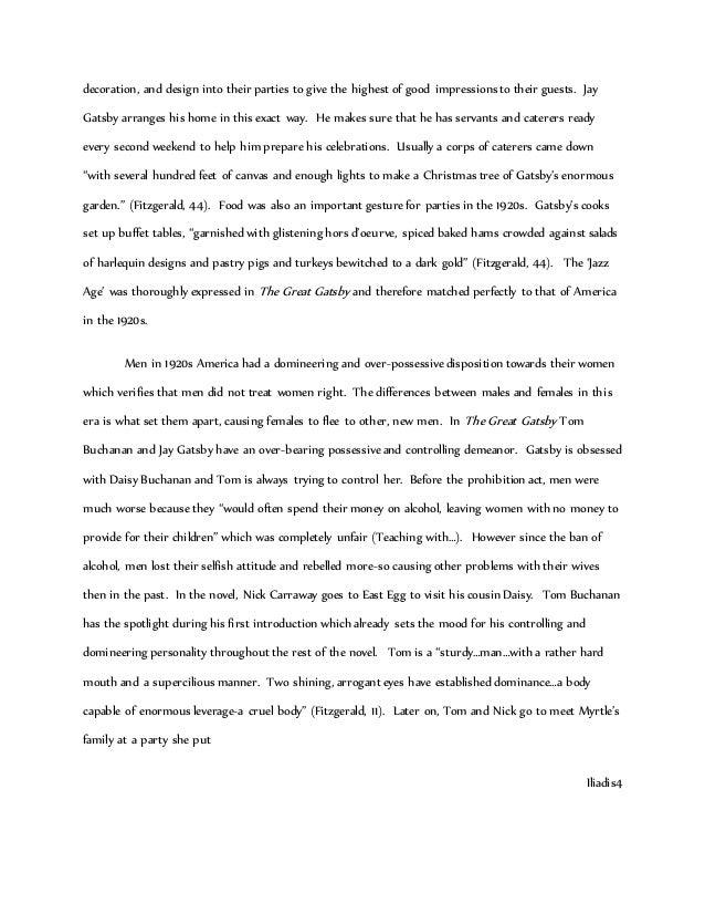 gatsbys light essay grader