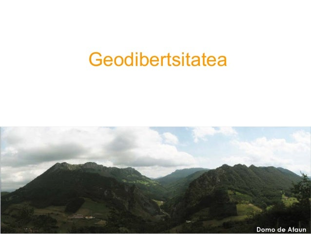 1 Geodibertsitatea