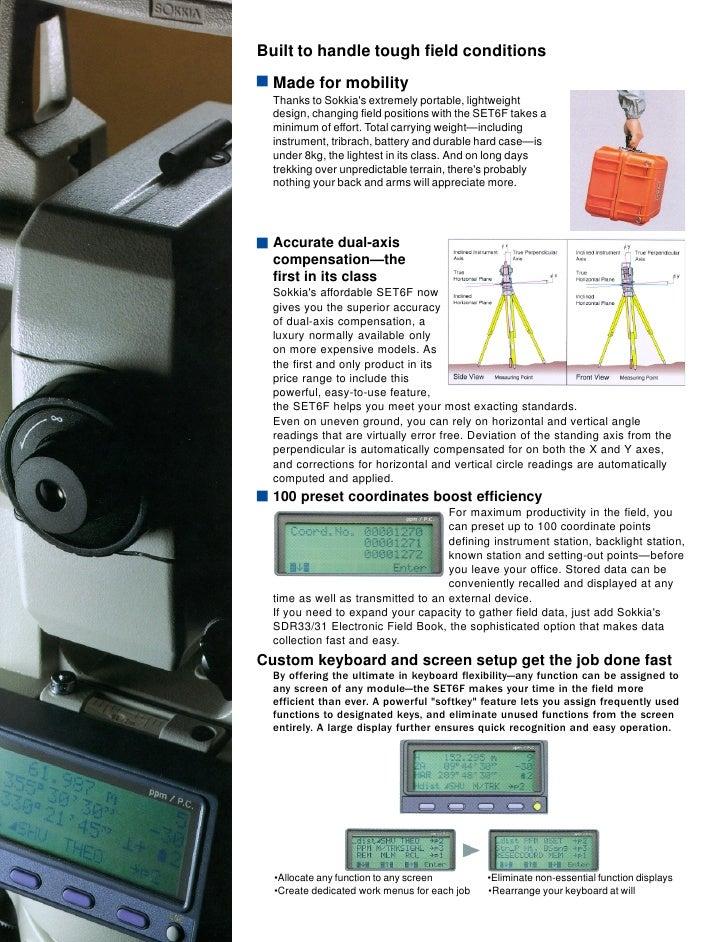 Sokkia Set 2 C Owners Manual Iso