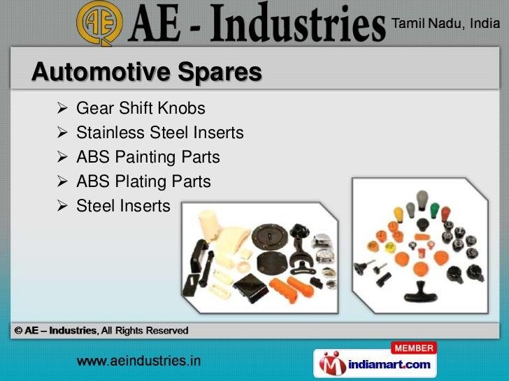 Ae Industries Tamil Nadu India